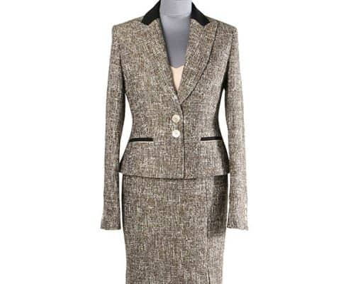 Konni Lach Masskonfektion-Kleid-Jacke-Boucle