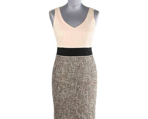 Konni Lach Masskonfektion-Kleid-beige